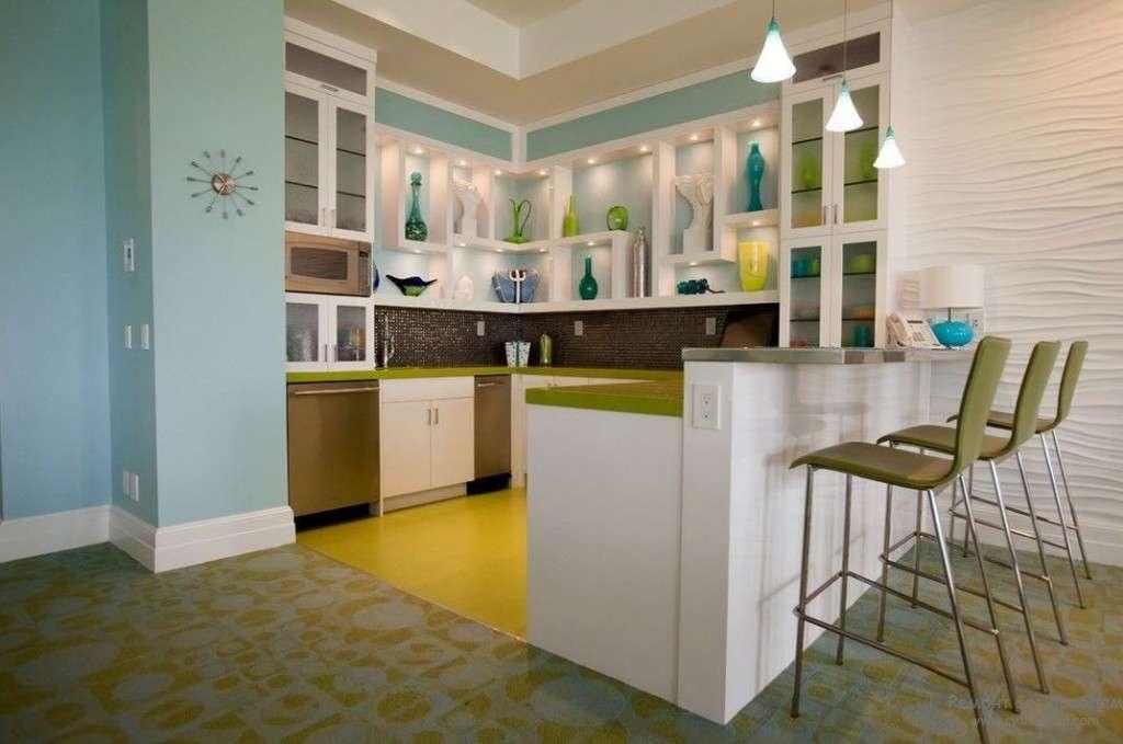 Холодильник на кухні (46 фото): вибираємо правильне місце