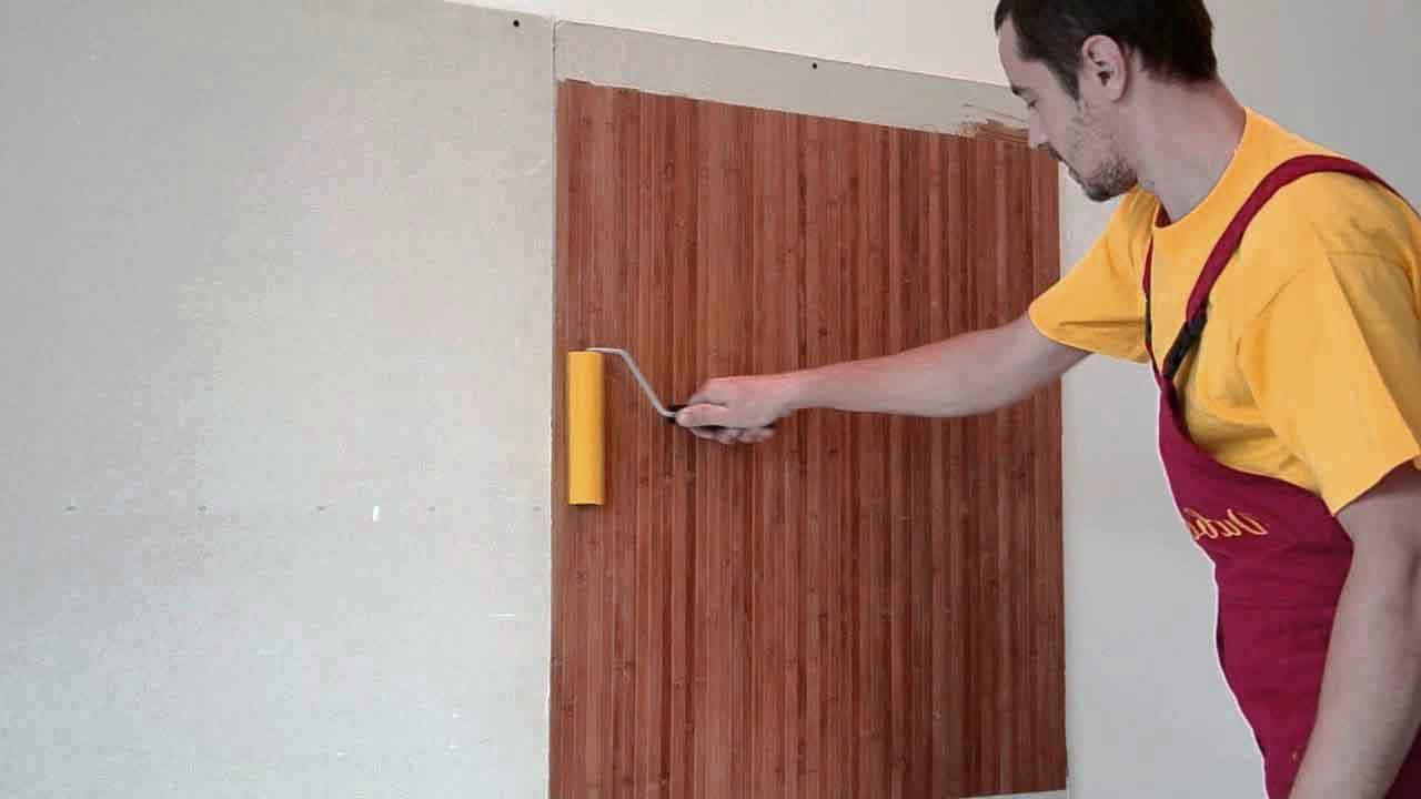 Бамбукові шпалери в інтерєрі (38 фото): варіанти використання, нюанси монтажу