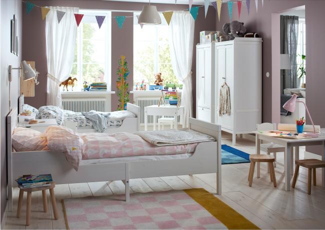 Дитячі ліжка ІКЕА: популярні моделі та поради з вибору ідеальної ліжка для дитини