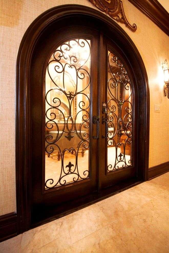 Ковані двері (45 фото): вишуканість епохи відродження і модна тенденція