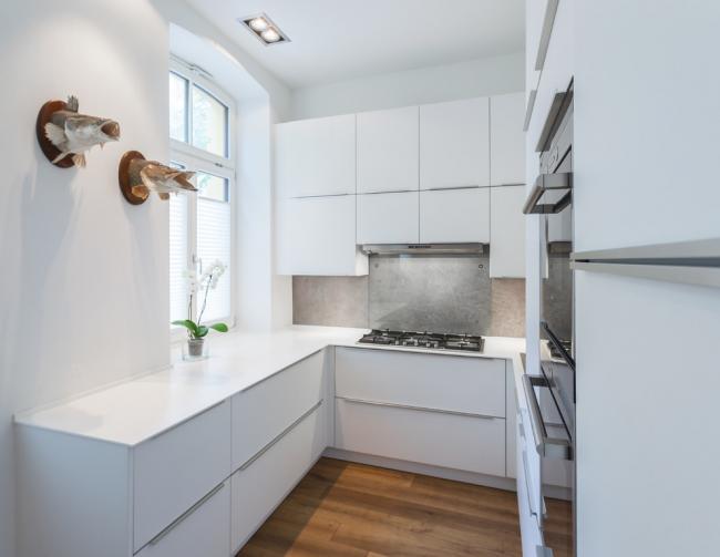 Дизайн маленької кухні: варіанти планувань і максимум функціональності в рамках 6 кв. м