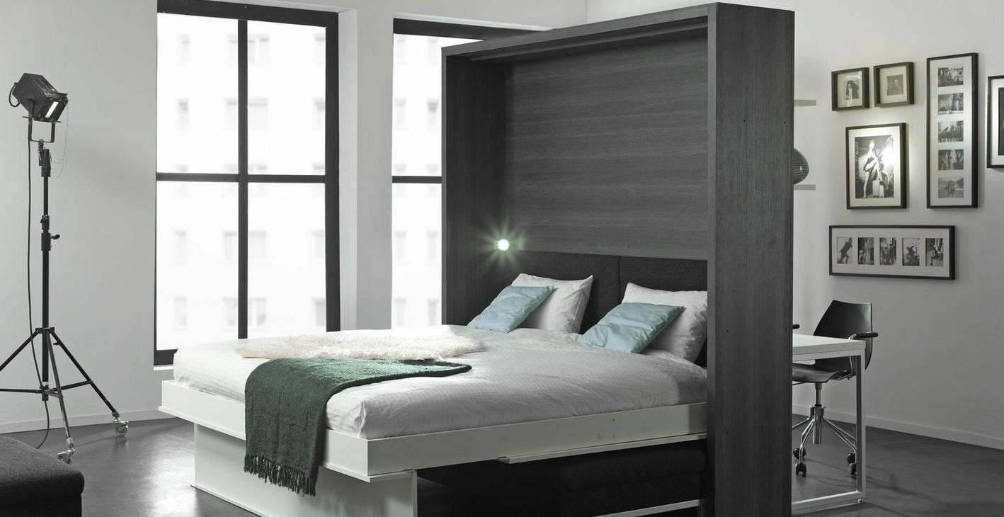 Як перетворити малогабаритну квартиру за допомогою відкидний ліжка?