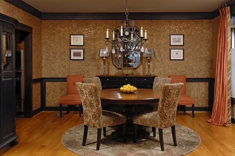 Пробкові шпалери в інтерєрі (43 фото): природа в вашому домі