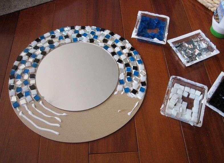 Рама для дзеркала своїми руками (фото 48): унікальна обробка при мінімальних вкладеннях
