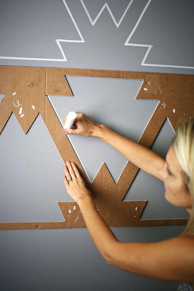 Трафарети для стін своїми руками (50 фото): тонкощі і секрети техніки