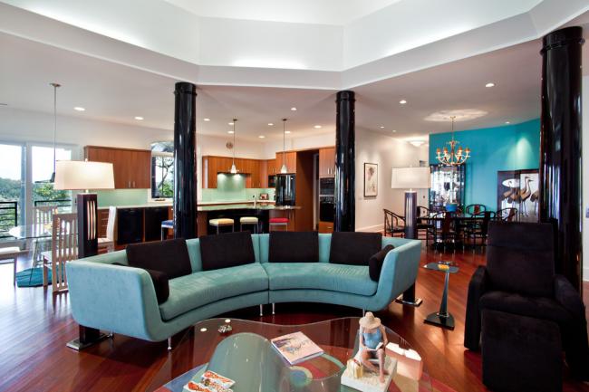 Меблі в стилі Тіффані: 60+ витончених і елегантних інтерєрів з бірюзовим диваном