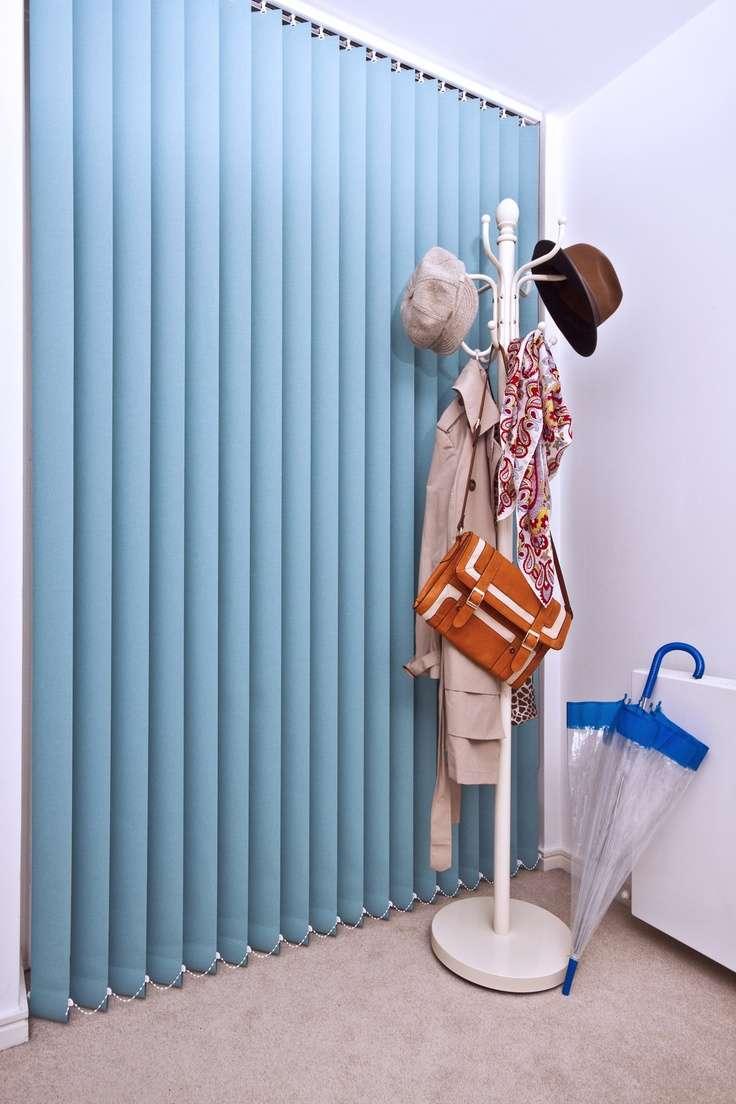 Жалюзі вертикальні тканинні (37 фото): функціональність і краса інтерєру