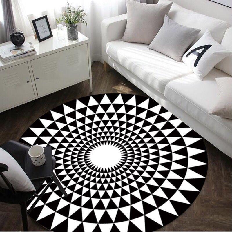Строгість і лаконізм: вибираємо ідеальний чорний килим для інтерєру