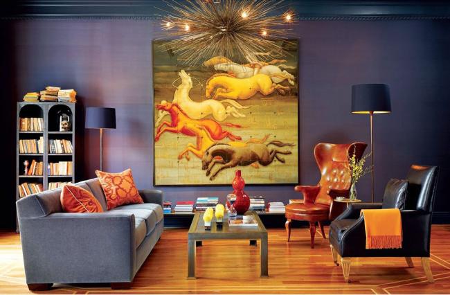 Колір охра в інтерєрі: створюємо витончений дизайн квартири в янтарно-медової гамі