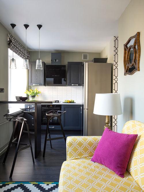 Як облаштувати дизайн невеликої кухні 7 кв. м? Поради дизайнерів по плануванні і обробці