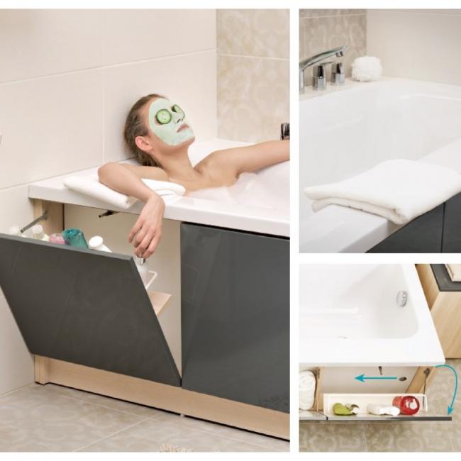 Екран під ванну: вибираємо і встановлюємо самостійно