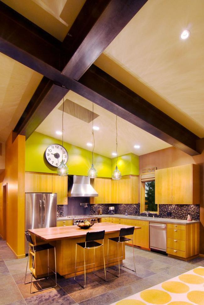 Фіолетова плитка в інтерєрі: 70+ ідей гармонійних сполучень відтінків, принтів і фактур