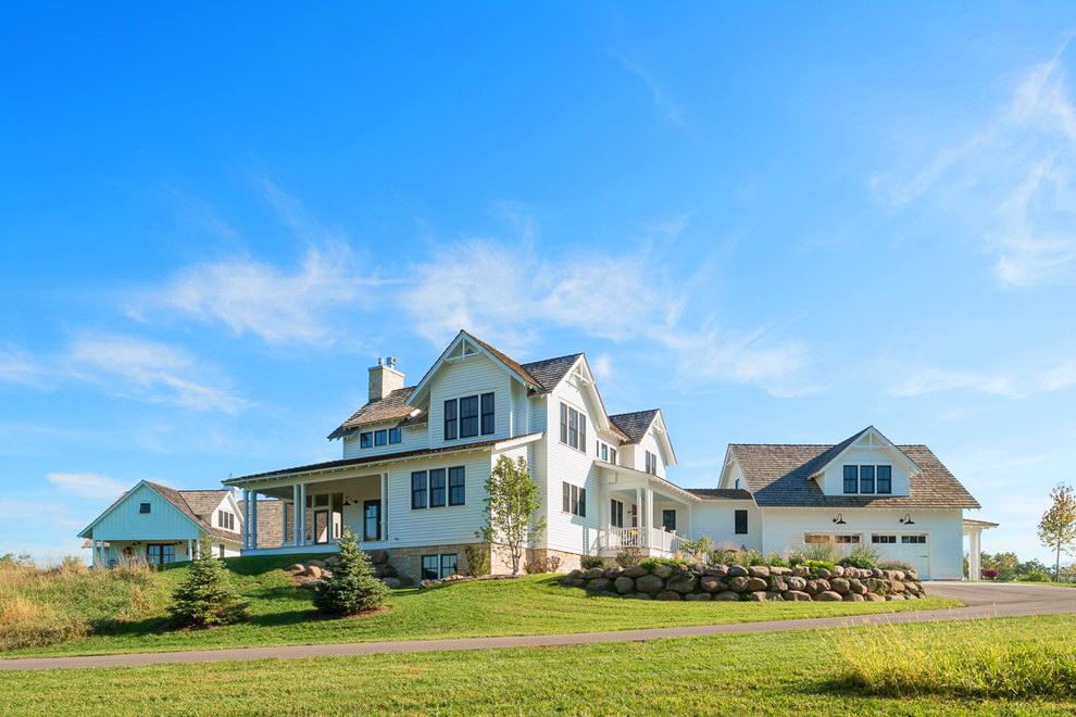 Фронтони приватних будинків: види конструкцій, обшивка і варіанти монтажу