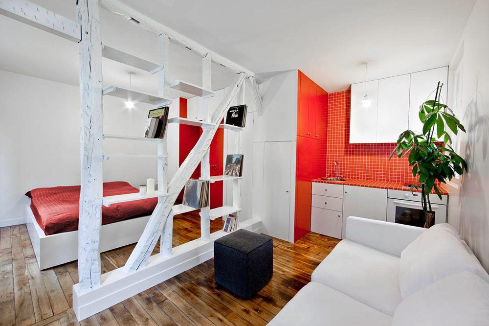 Дві зони і всього 14 кв. метрів: створюємо сучасний інтерєр невеликої кухні-вітальні