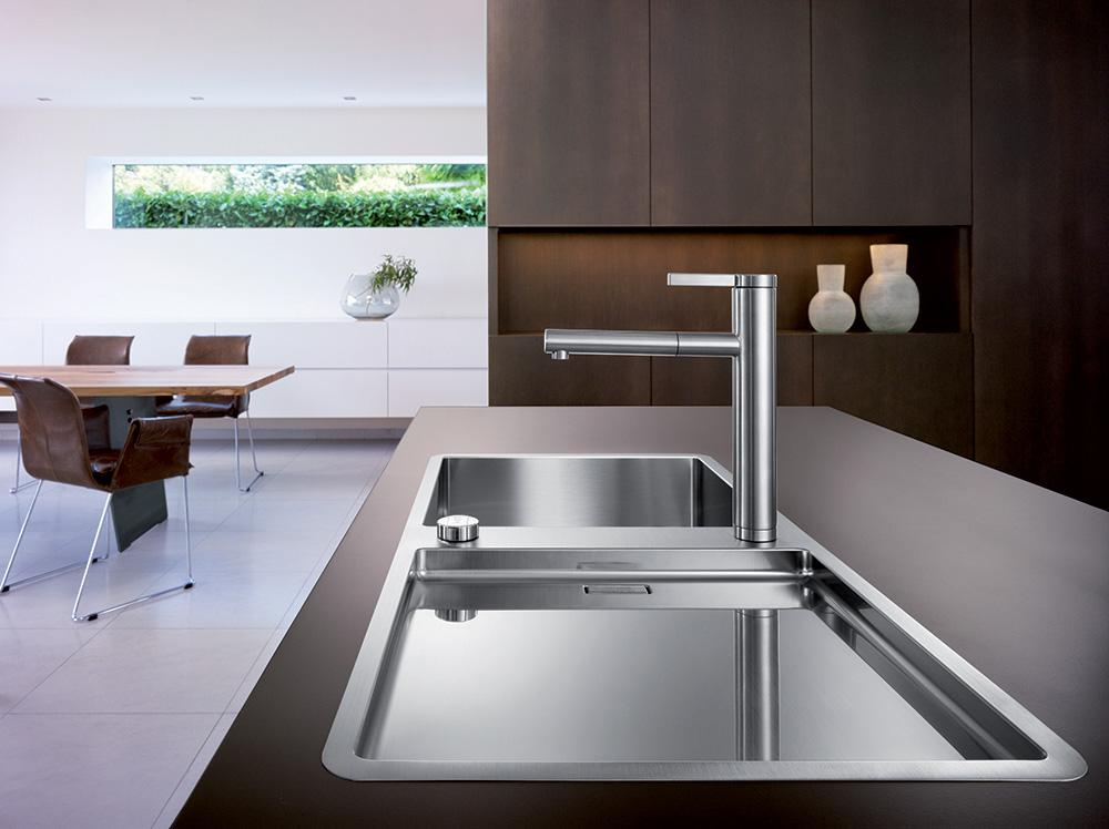 Кухонні мийки Blanco: порівняння матеріалів, відгуки та огляд популярних модельних лінійок