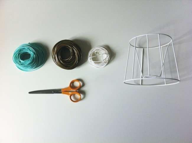 Плафони для світильників своїми руками: оригінальні ідеї та майстер-класи з декору
