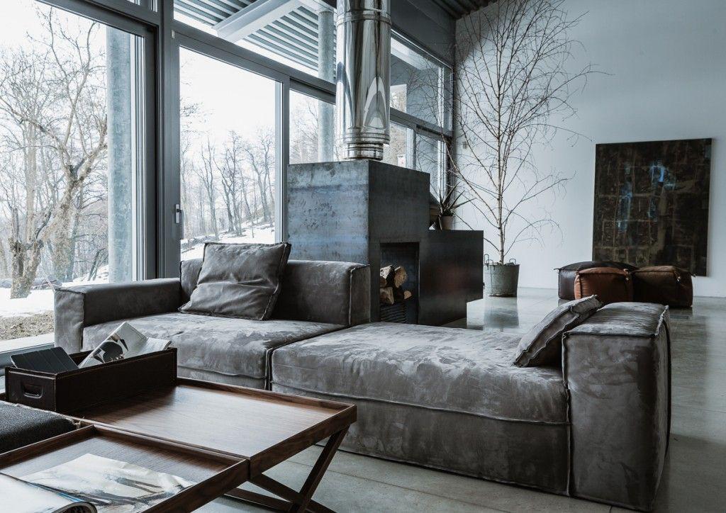 Вітальня в сірому кольорі: поради дизайнерів і варіанти комбінацій з іншими відтінками