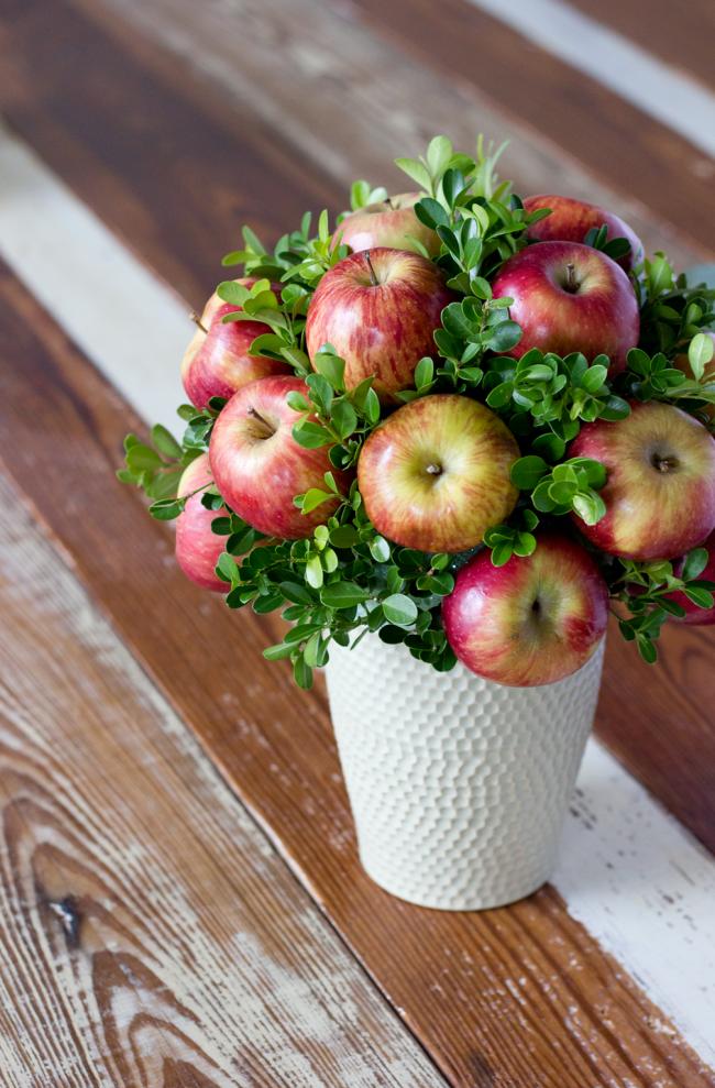 Топіари з фруктів: майстер-клас по створенню апетитного шедевра своїми руками
