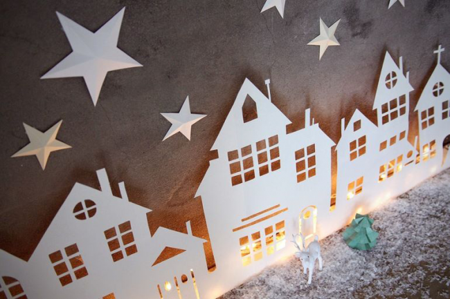 Трафарети на Новий рік: варіанти святкового декору та кращі ідеї своїми руками