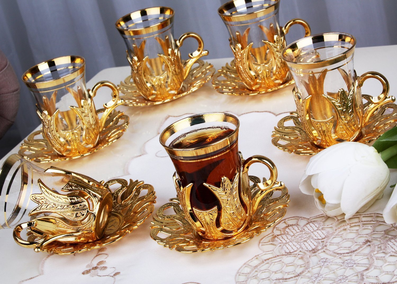 Турецькі чашки для чаю: як правильно використовувати та особливості чаювання по-східному