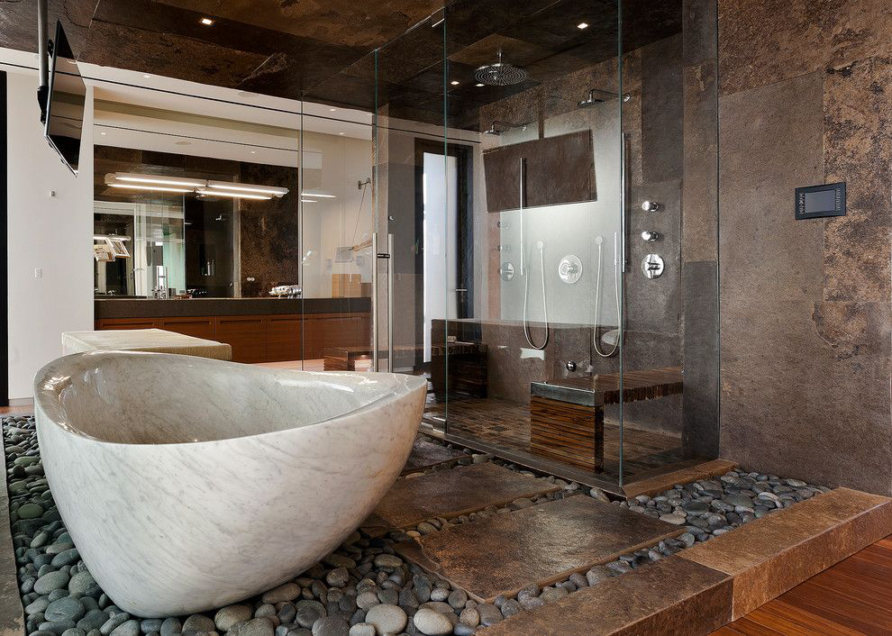 Ванни з литого мармуру: довговічність і розкіш без компромісів