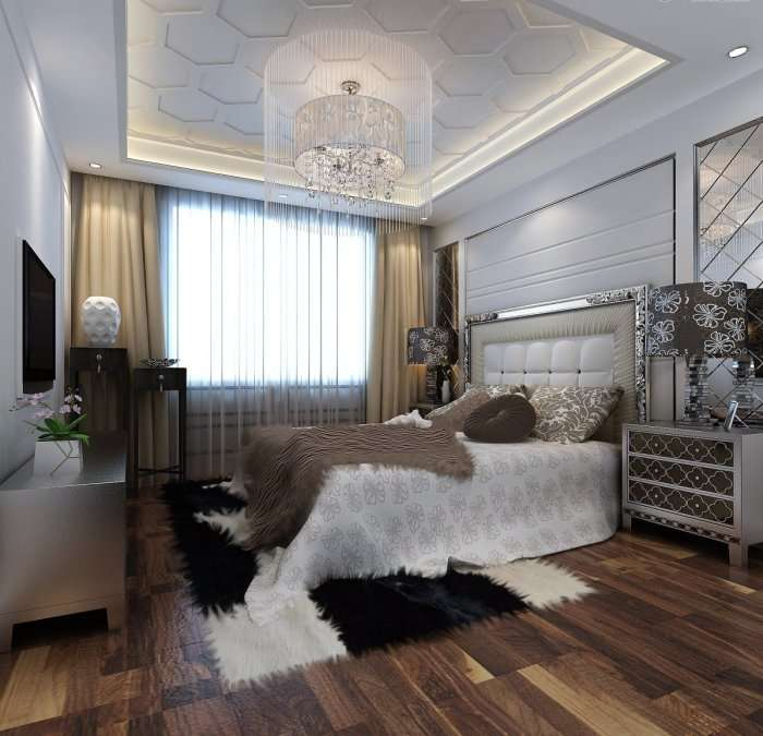 Спальня в стилі арт-деко (38 фото): розкіш і затишок